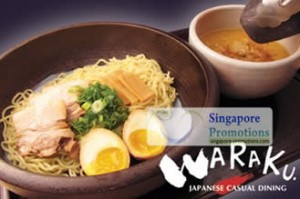 Featured image for LIMITED OFFER: Waraku 50% Off Japanese Cuisine @ Marina Square 30 Aug 2011