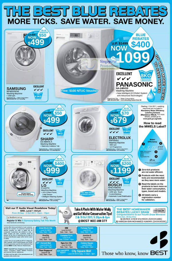 Featured image for Best Denki Washing Machines Special Offers 30 Sep 2011