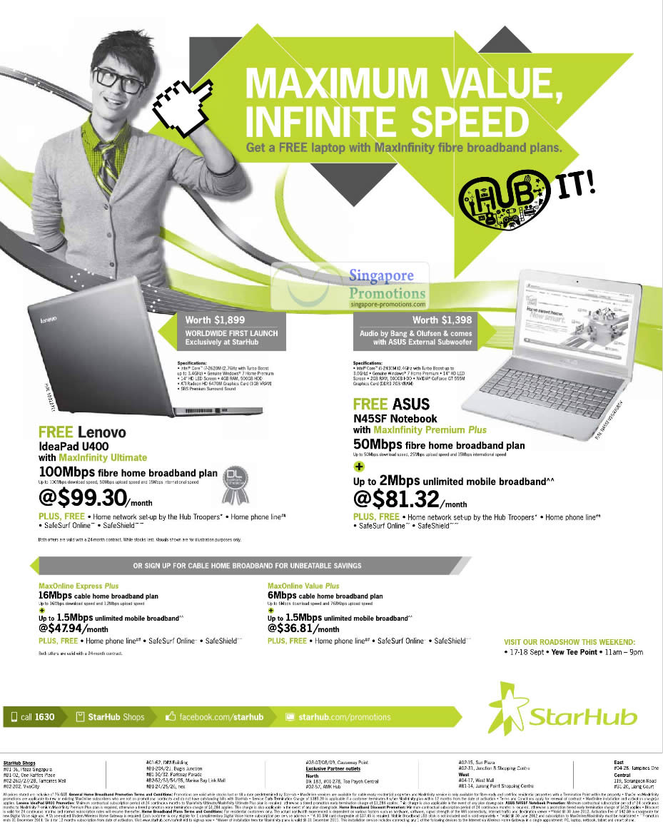 MaxInfinity Ultimate Free Lenovo IdeaPad U400, ASUS N45SF Notebook