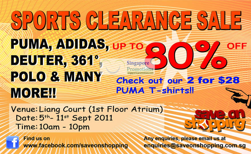Save on Shopping 1 Sep 2011