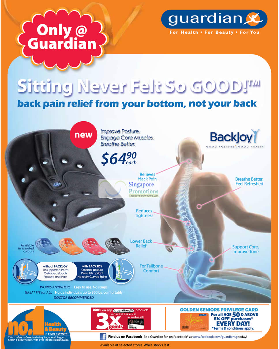 BackJoy Back Pain Relief