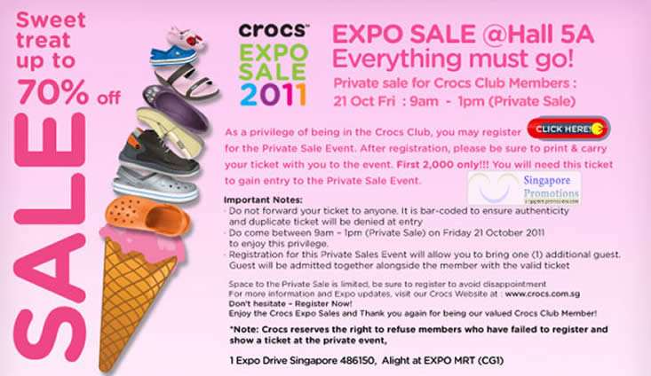 Crocs 14 Oct 2011