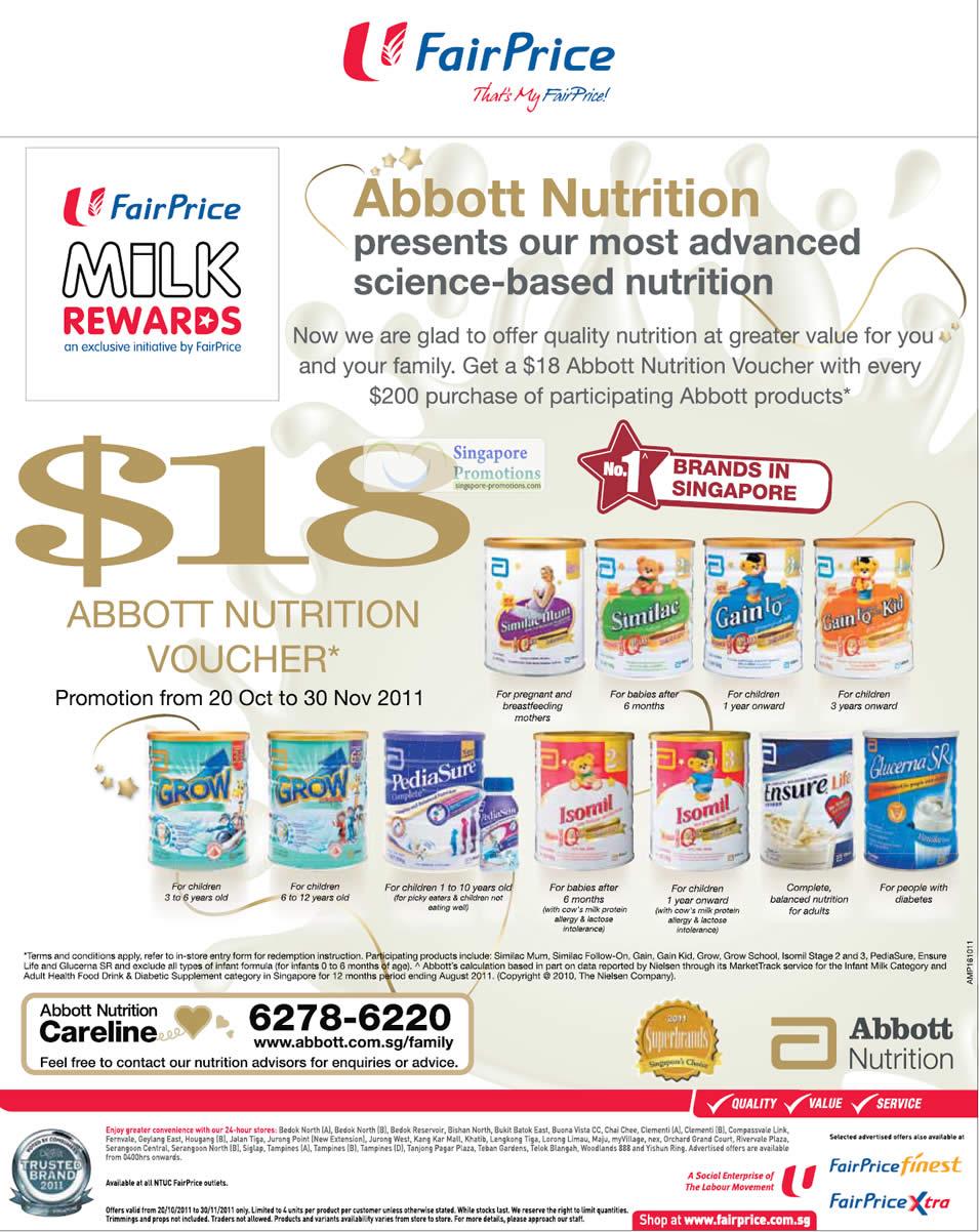 FairPrice Abbott 20 Oct 2011