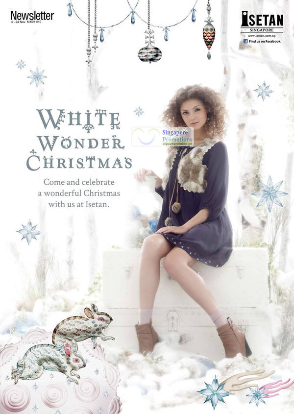Featured image for Isetan White Wonder Christmas Special Offers 4 – 24 Nov 2011