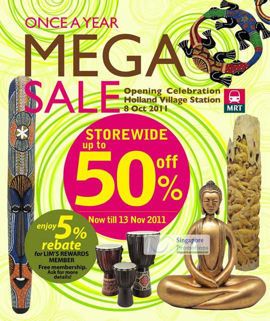 Mega Sale Up To 50 Percent Off