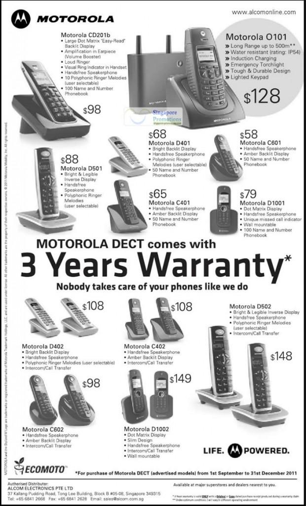 Motorola 27 Oct 2011