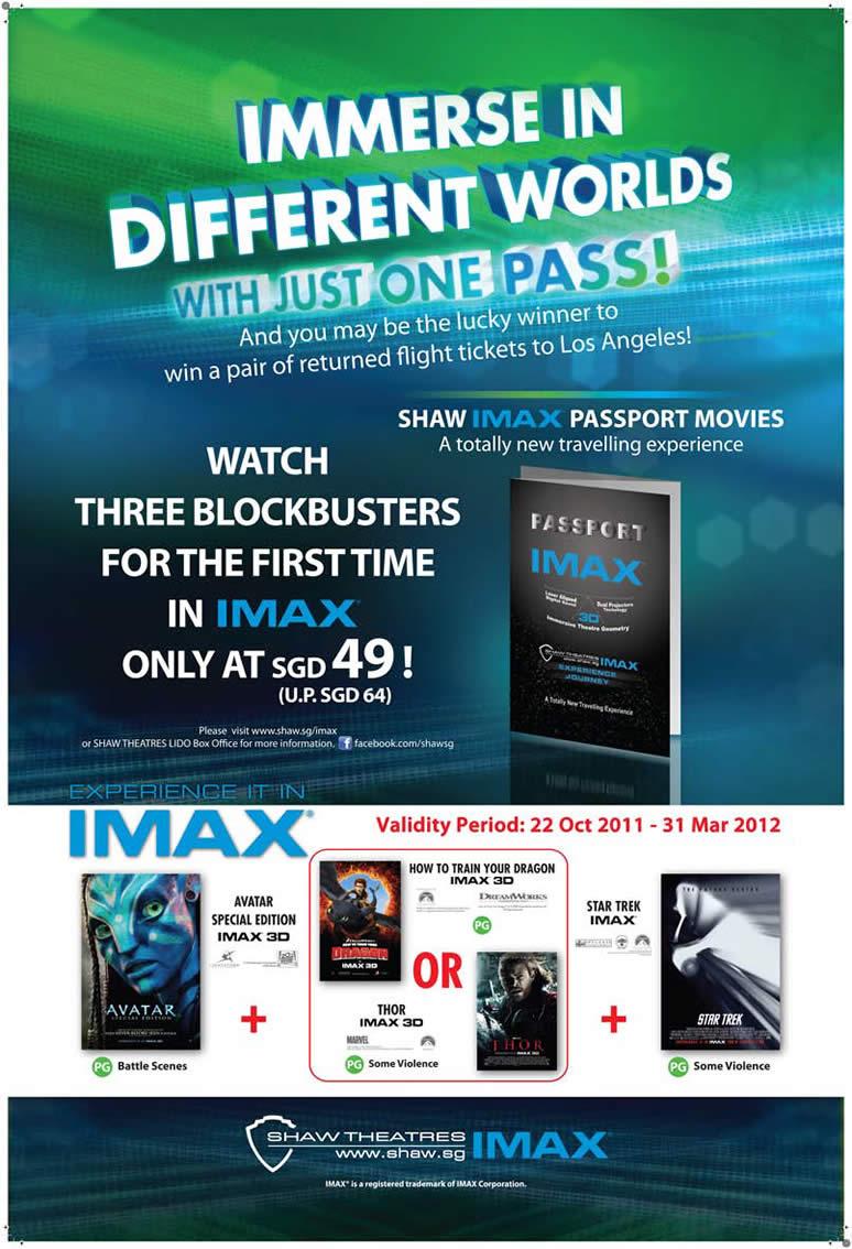 SHAW IMAX Passport