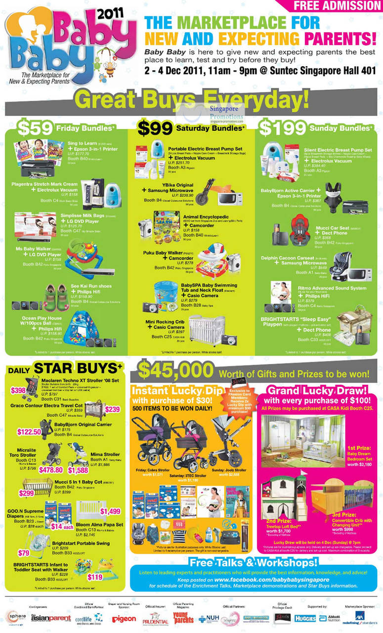 2 Dec Great Buys, Star Buys, Daily Bundles, Lucky Dip, Lucky Draw