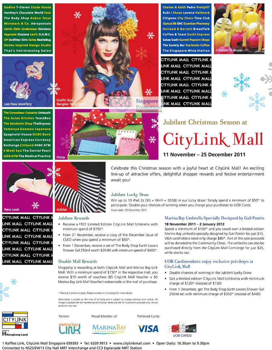 CityLink Mall 11 Nov 2011