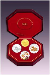 Dragon 3 in 1 Coin Set