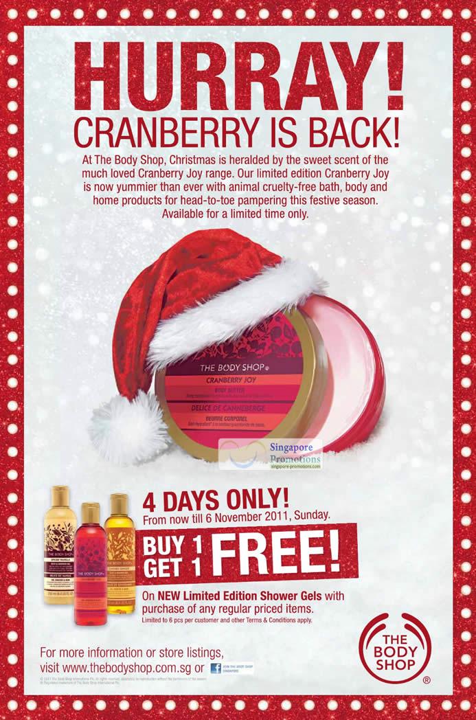 The Body Shop 3 Nov 2011