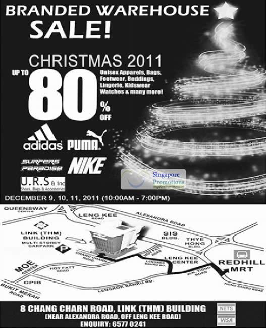 Branded Warehouse 9 Dec 2011