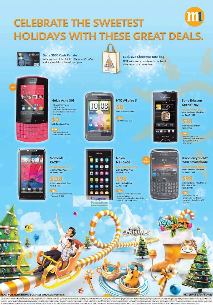 Nokia Asha 303, HTC Wildfire S, Sony Ericsson Xperia Ray, Motorola Razr, Nokia N9, Blackberry Bold 9780