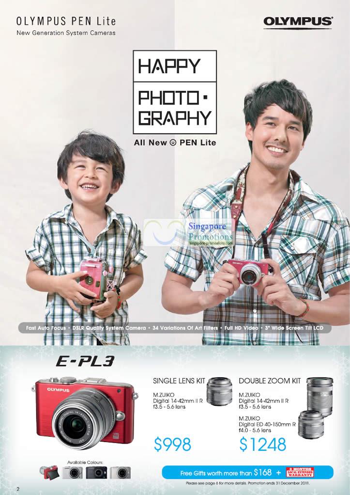 Pen Lite E-PL3 Digital Camera