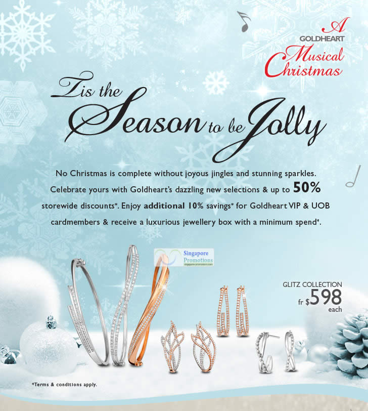 Goldheart Jewelry Up To 50 Off Storewide Christmas