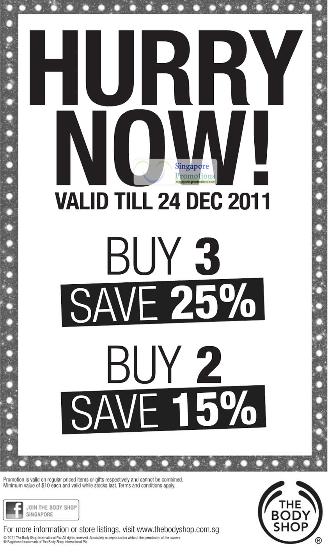 The Body Shop 15 Dec 2011