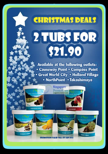 Two Tubs Promotion