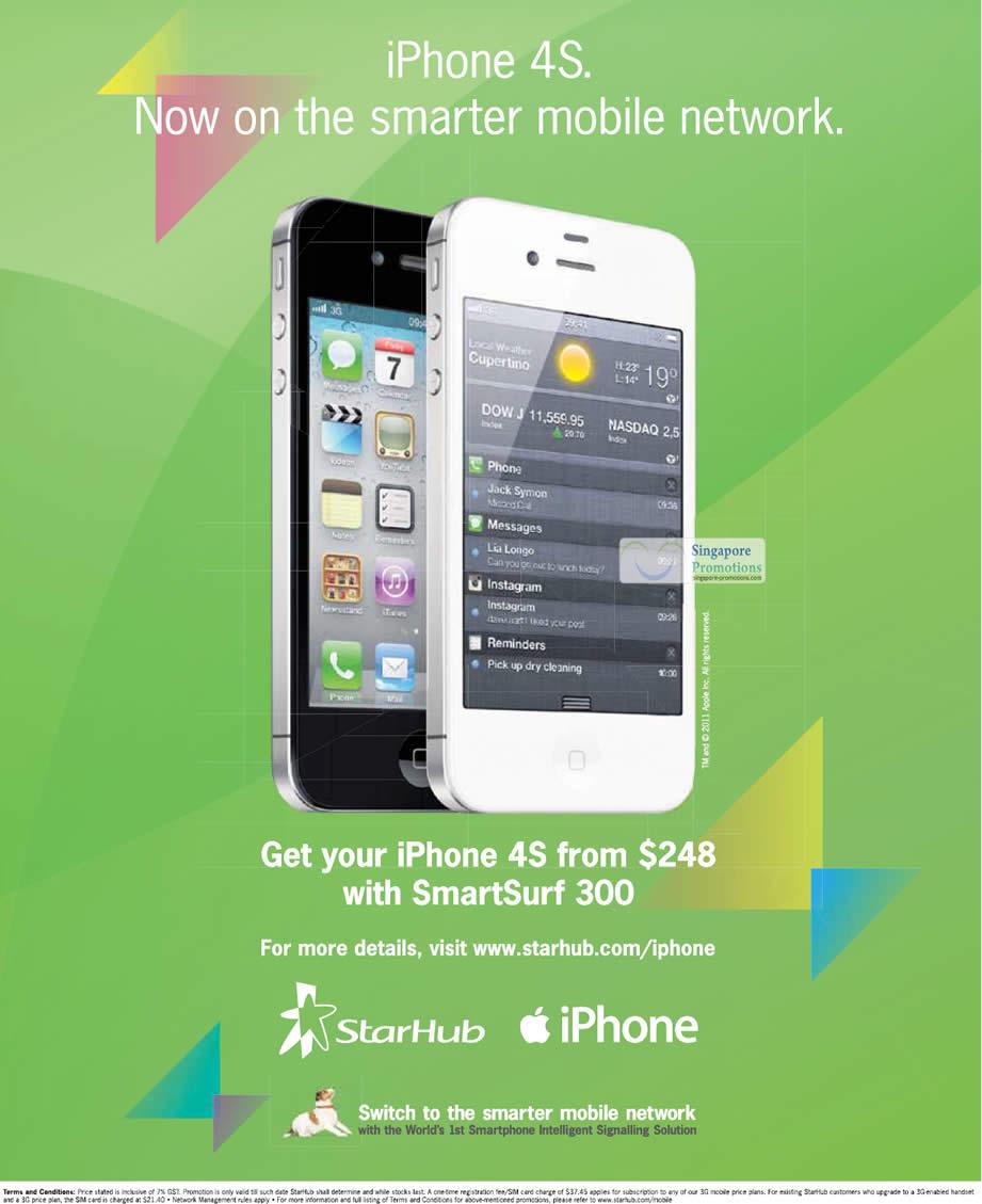 Iphone  Starhub