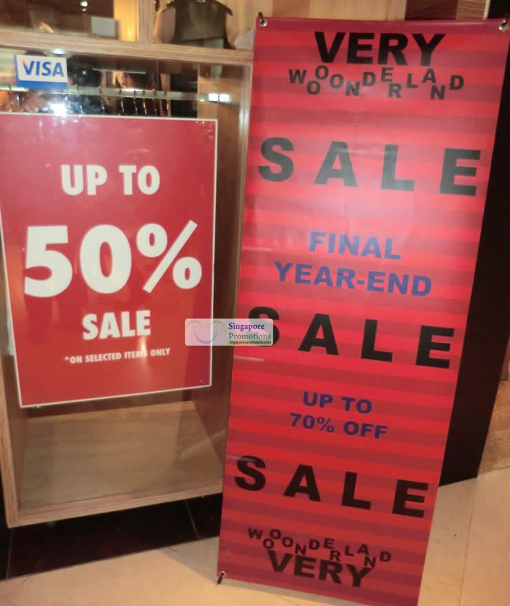 Shopfront sale