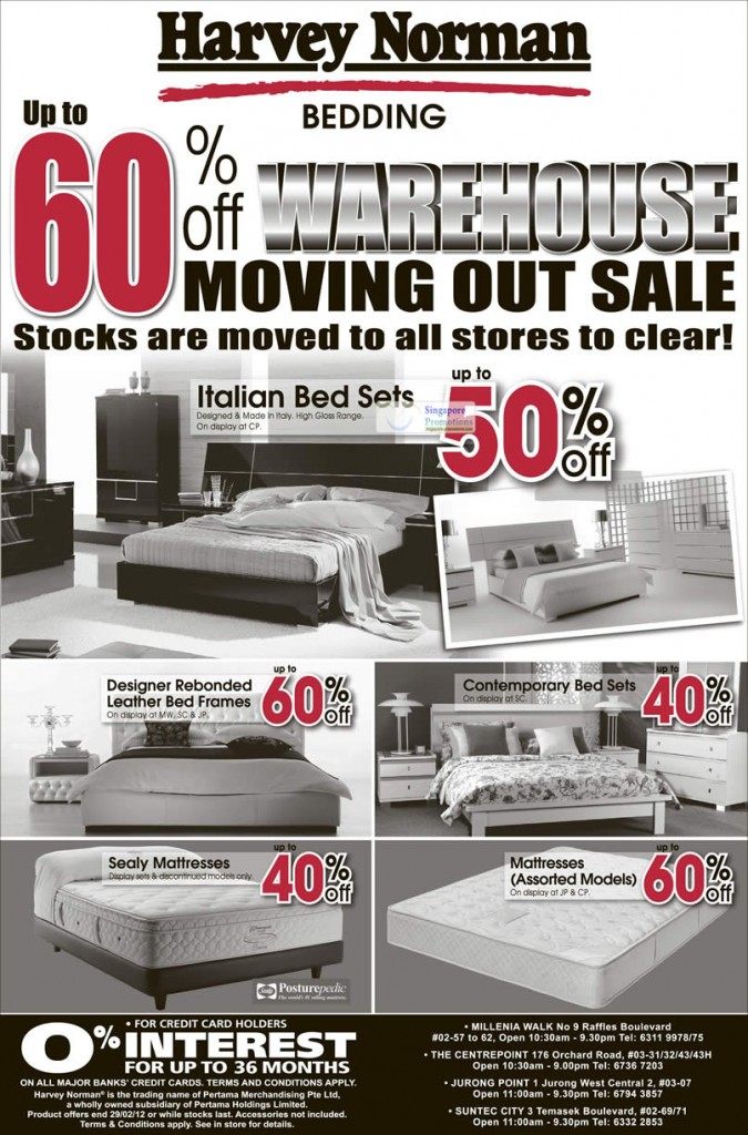 Italian Bed Sets, Designer Rebonded Leather Bed Frames, Contemporary Bed Sets, Sealy Mattresses, Mattresses (Assorted Models)