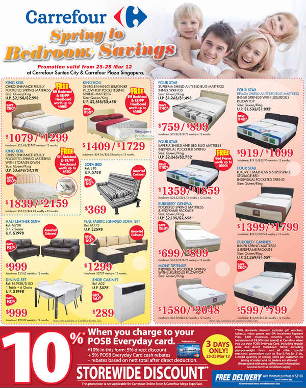 Page 3 » List of Carrefour related Sales, Deals, Promotions