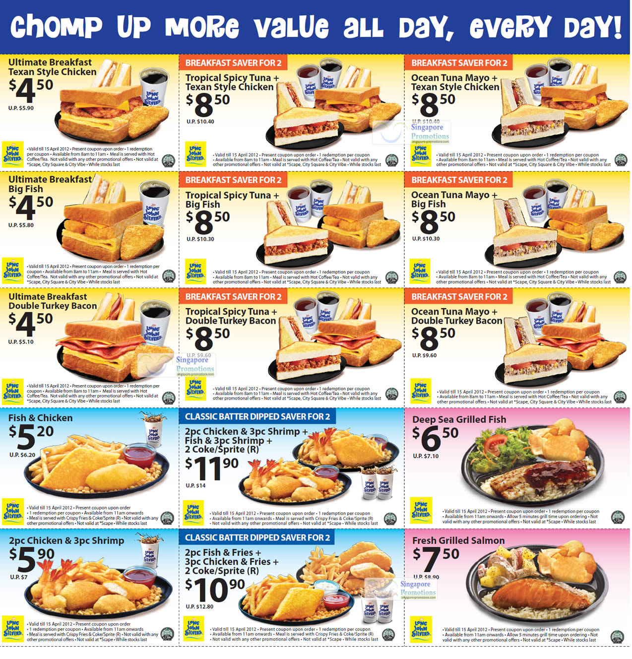 The newest McDonald's Singapore promotions and coupon deals, updated in Nov Munch and save a bunch with these latest offers.