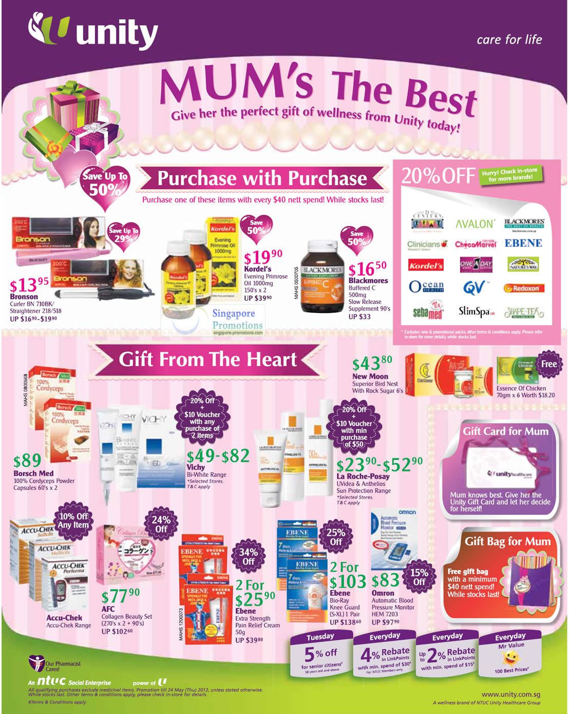 11 May Mothers Day Gift Ideas » NTUC Unity Health Offers ...