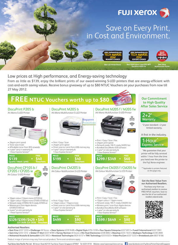 List of Fuji Xerox related Sales, Deals, Promotions & News