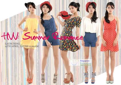 Her Velvet Vase New Summer Romance Collection 2012 Launch 12 Apr 2012