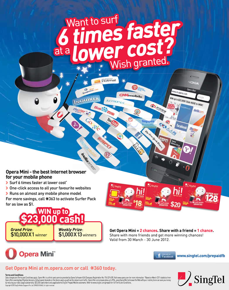 Hi Card Prepaid Opera Mini