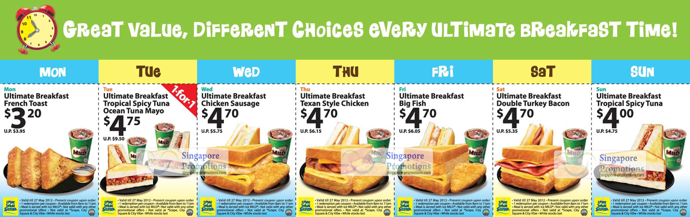 Toys For Infants >> Long John Silver's Breakfast Coupons 28 Apr – 27 May 2012