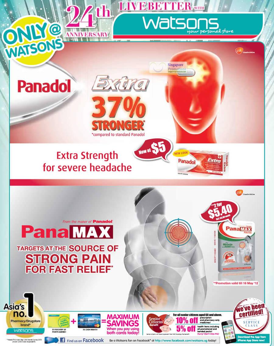 Panadol Extra, Panadol Panamax