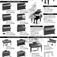 Yamaha piano fair 2012 suntec 28 29 apr 2012 for Yamaha clavinova cvp 501 for sale