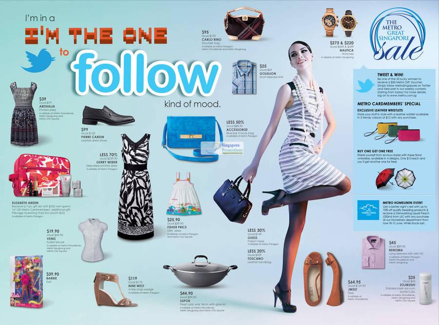 1 Jun Nautica Watches, Carlo Rino Hand Bag, Pierre Cardin Shoes, Fisher Price Dress