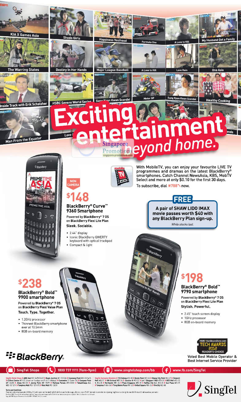 Blackberry Curve 9360, Blackberry Bold 9900, Blackberry Bold 9790