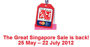 Great Singapore Sale 2012