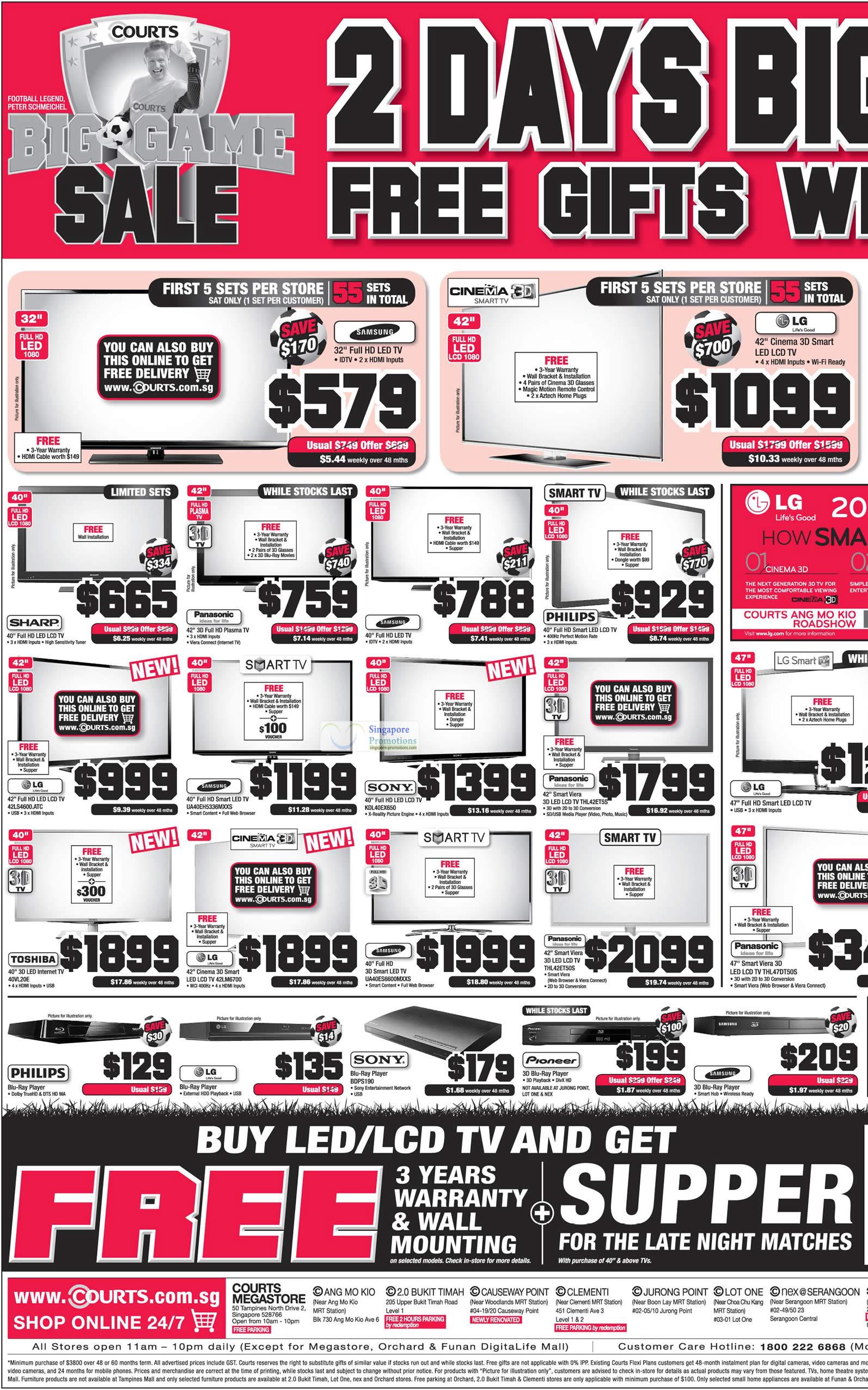LCD TVs, Smart TVs, Samsung, LG, Sony, Panasonic, Philips, Sharp, Toshiba