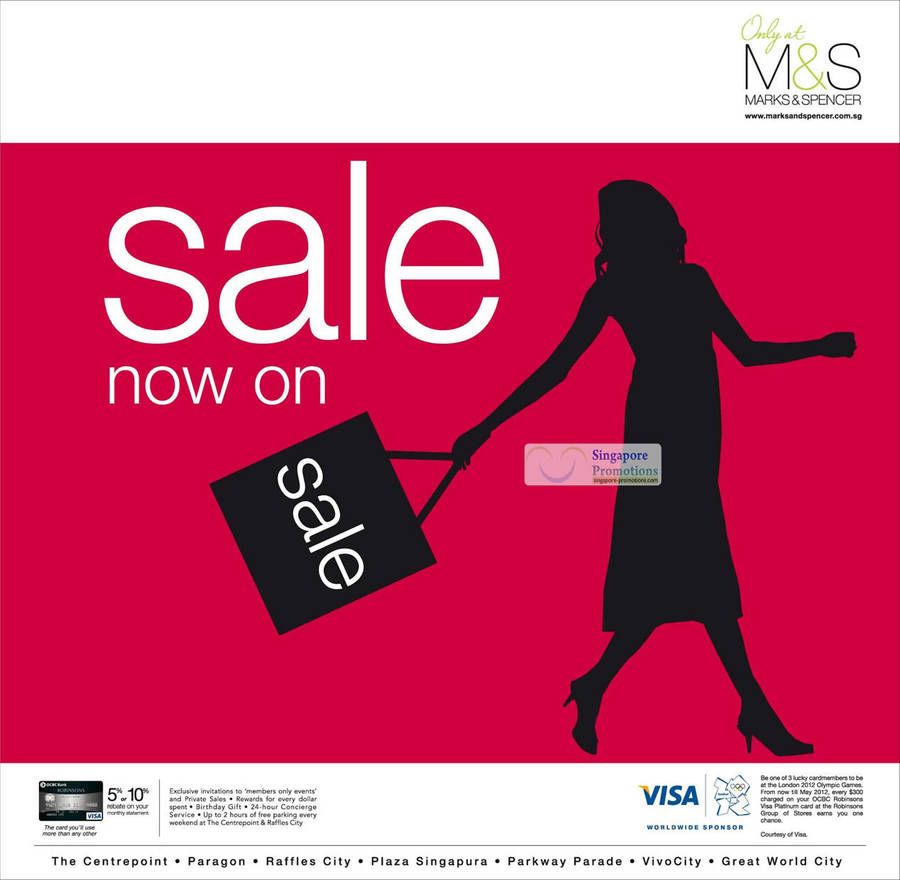 Marks Spencer 9 May 2012