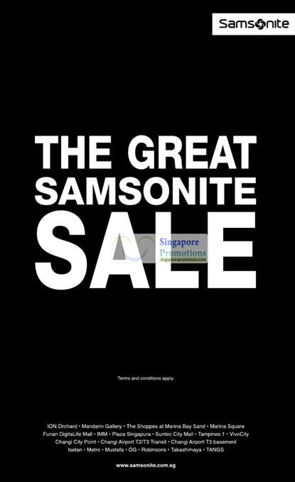 Samsonite 30 May 2012