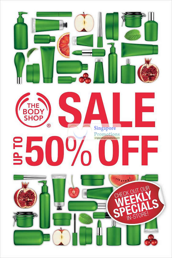 The Body Shop 14 May 2012
