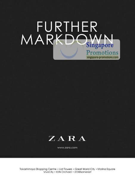 12 Jul Zara Further Markdown