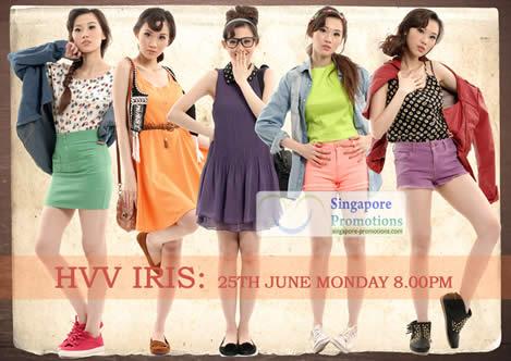 Her Velvet Vase Iris New Summer Pin Up Collection Launch 25 Jun 2012