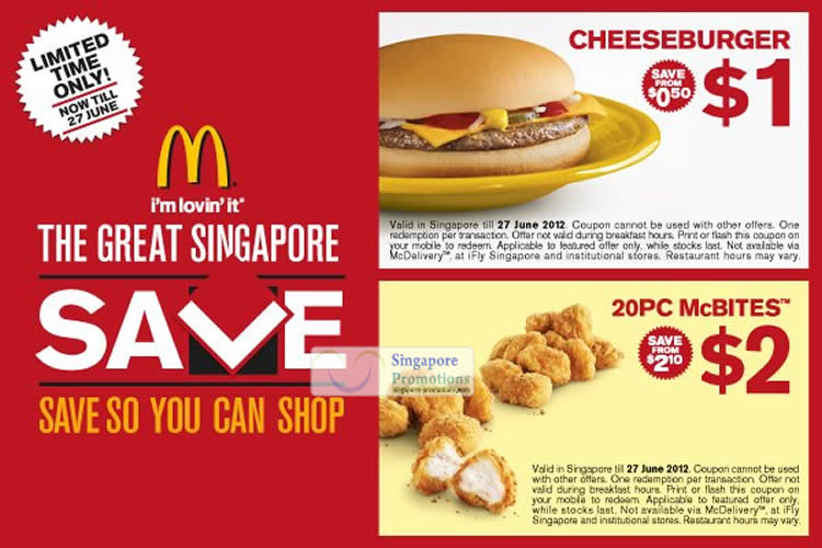 Now get various Mcdonalds promo code and coupons to get food online at extra savings for – December