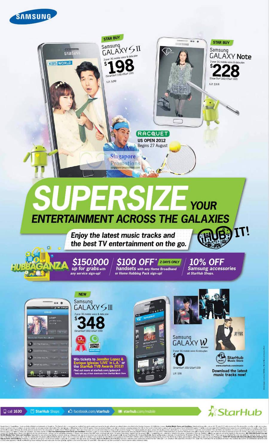 Samsung Galaxy S II, Samsung Galaxy Note, Samsung Galaxy S III, Samsung Galaxy W