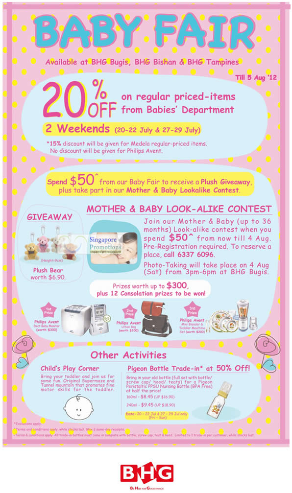 20 Percent Off, Mother and Baby Look Alike Contest