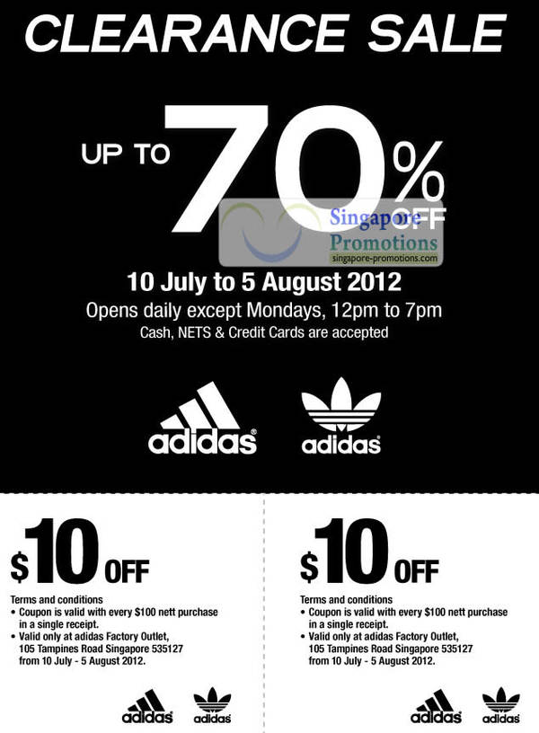 Adidas Factory Outlet Tampines (Jul 2012)