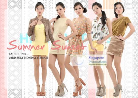 Her Velvet Vase New Summer Sunset Collection Launch 23 Jul 2012