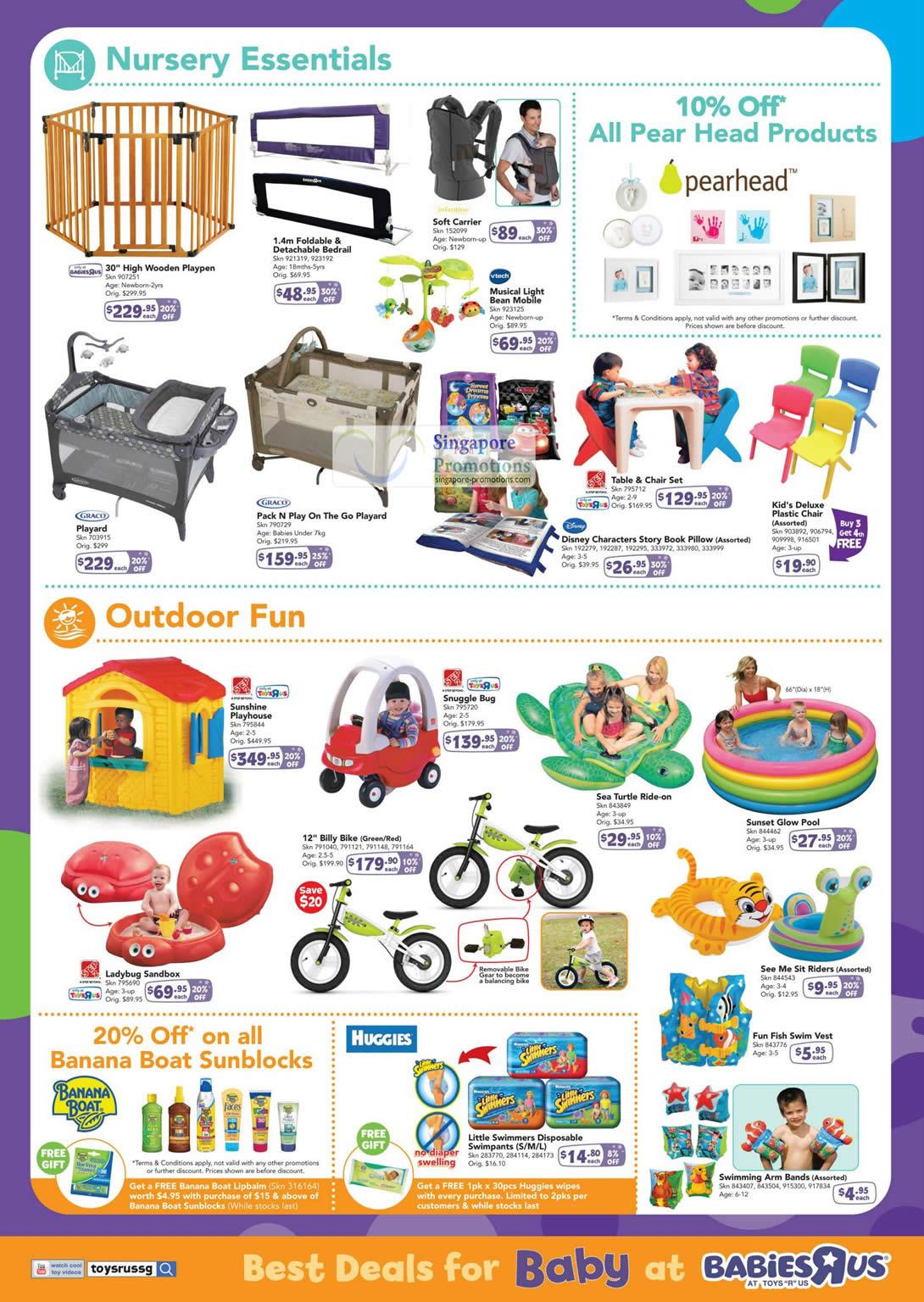Nursery Essentials, Outdoor Fun