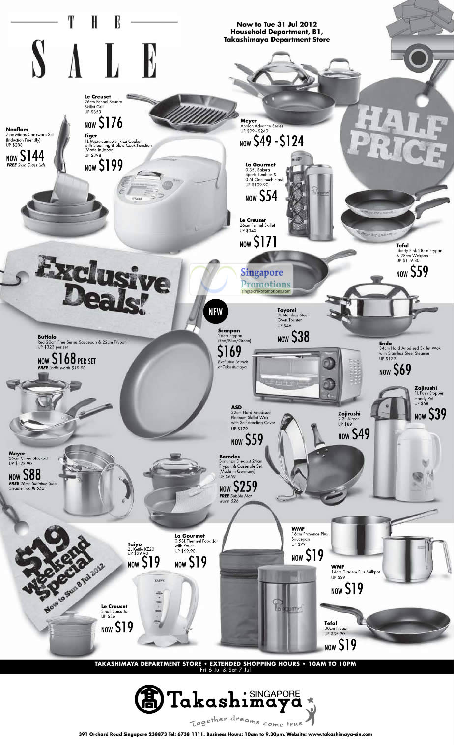 Takashimaya Kitchenware 6 Jul 2012