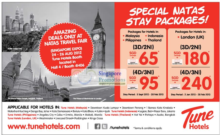 Tune Hotels » NATAS Fair 2012 (Aug 2012) Travel Fair